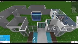 Aesthestic 1 Story Mansion ~ Roblox Bloxburg Speed build