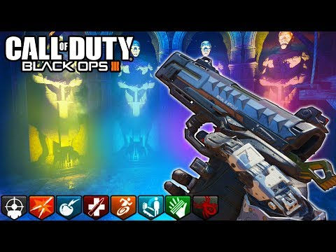 'ORIGINS' PISTOLS ONLY SOLO EASTER EGG CHALLENGE! - (Call of Duty: Black Ops 3 Zombies LIVE)