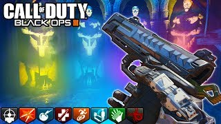 WE ONLY USED PISTOLS FOR THIS EASTER EGG CHALLENGE! - (Call of Duty Zombies)