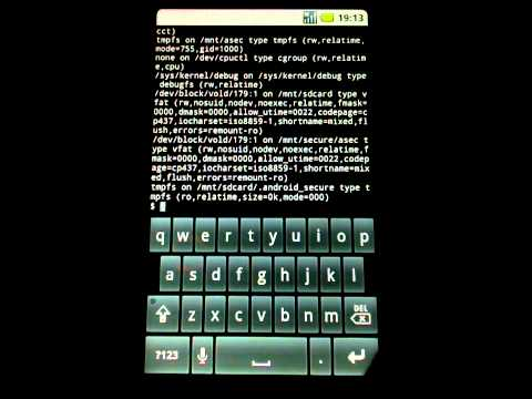 HTC HD2 Booting from yaffs2 NAND partitions