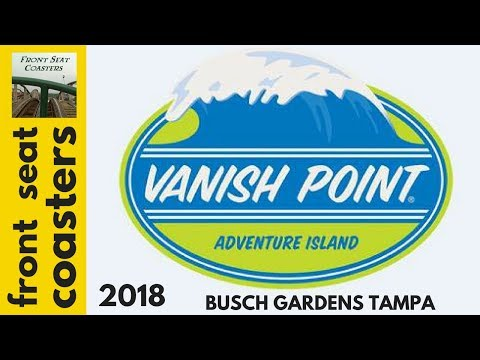 VANISH POINT Epic Drop Tower Water Slide Coming In 2018 To Busch Gardens Tampa Bay Adventure Island