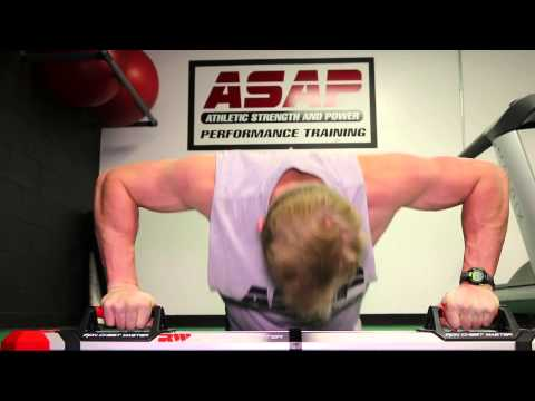 Jake Proctor tests out the Iron Chest Master