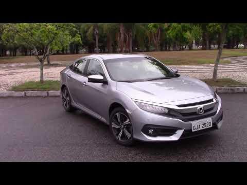 Avaliação Honda Civic Touring