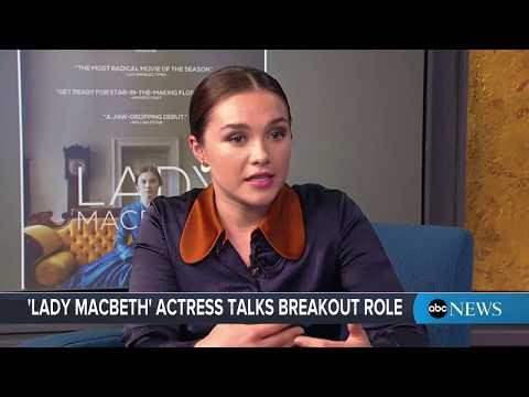 'Lady Macbeth' star Florence Pugh Interview on new film