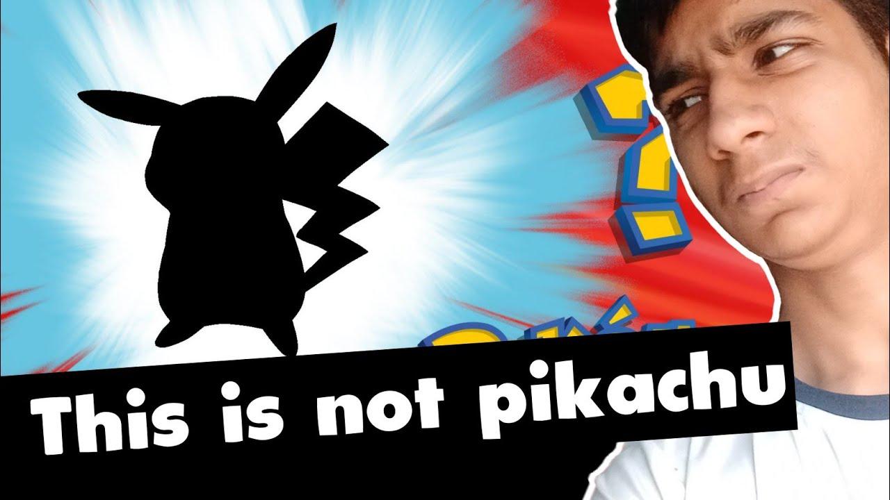 THIS POKÉMON IS NOT PIKACHU   Guess The Pokémon? (meme version)