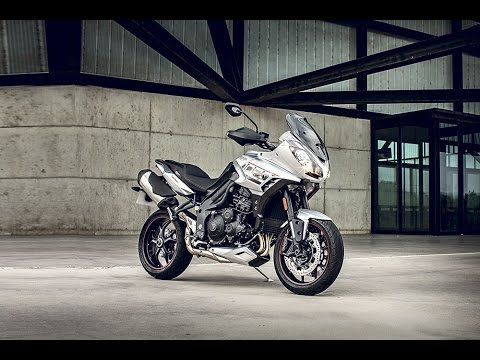 2017 Triumph Reveal New Tiger Sport Youtube