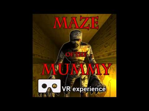 Maze Of The Mummy - horror maze game VR (Virtual reality)