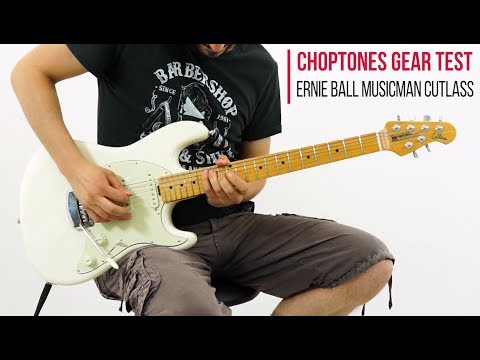 Ernie Ball Music Man Cutlass Guitar SSS - Demo & Playthrough