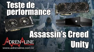 Comparativo: AC Unity rodando no Xbox One vs GTX 970 vs R9 290X