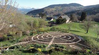Tracé du  jardin 2017 -Rose & Gilles Gandy