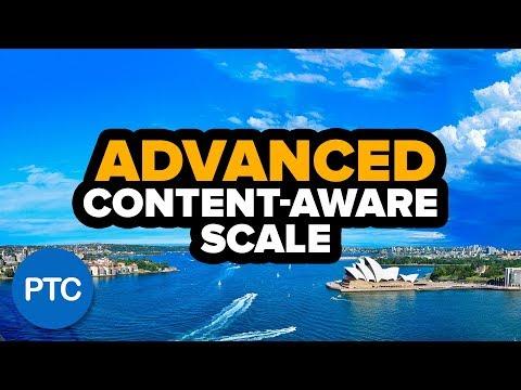 Photoshop: Làm thế nào để sử dụng SCALE-AWARE SCALE