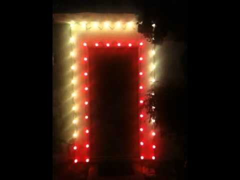 Ge Color Effects Led Color Changing Christmas Lights Youtube