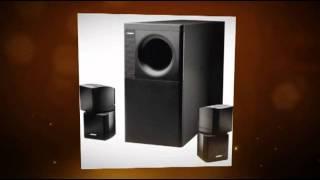 enhanced sound with bose acoustimass 5 speaker set