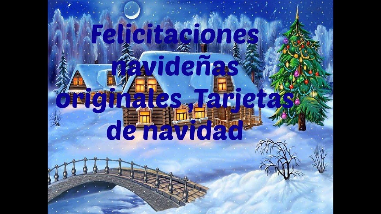 Felicitaciones Navidad Imagenes.Felicitaciones Navidenas Originales Tarjetas De Navidad
