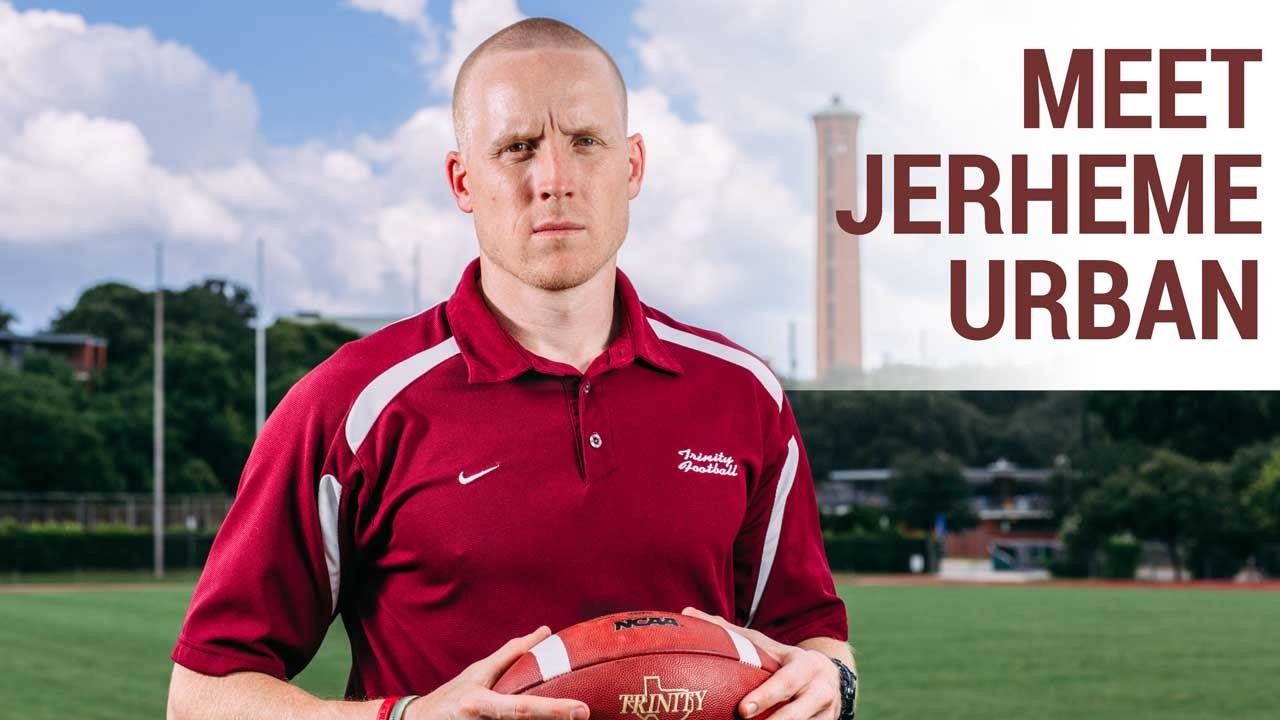 From Trinity University to the NFL and Back: Jerheme Urban