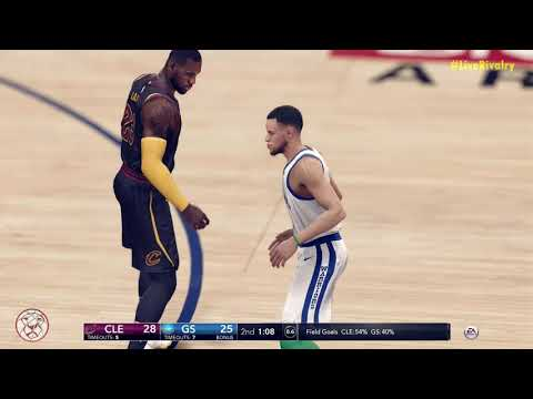 NBA Live 18: Cavs At Warriors - Rivalry