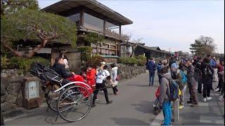 Kyoto Arashiyama Walking - Togetsu-kyo Bridge, Randen Arashiyama Sta. to Arashiyama Park [4K] POV