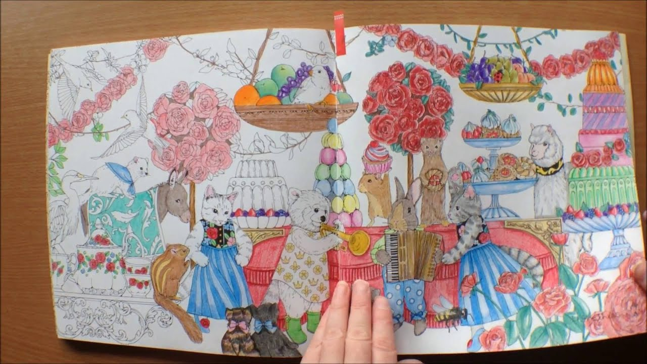 Rhapsody In The Forest By Egusa Kanoko Colouring Book