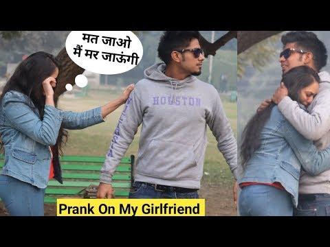 Break Up Prank On My Girlfriend (Rinky) Gone Emotional   Epic Reaction   Crispy Prank TV