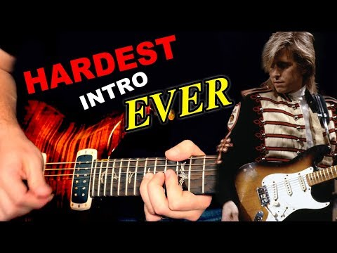 Learning the Hardest Guitar Intro Ever