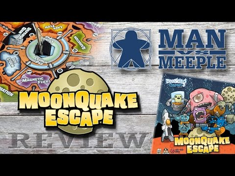 MoonQuake Escape (Breaking Games) Review by Man Vs Meeple