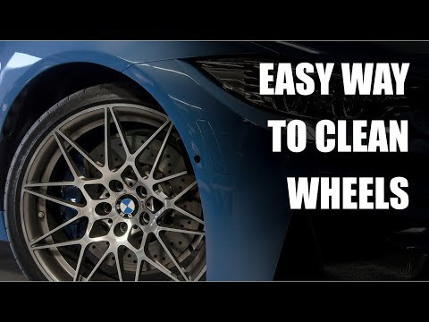 Cleaning BMW 666m Wheels