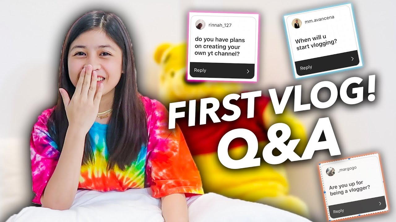 Q&A (FIRST VLOG) | Chelseah Hilary