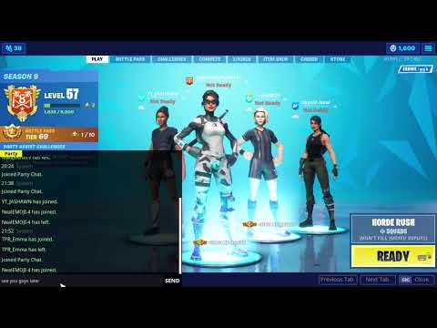 Download Livw with some Fortnite Sub target 281/300