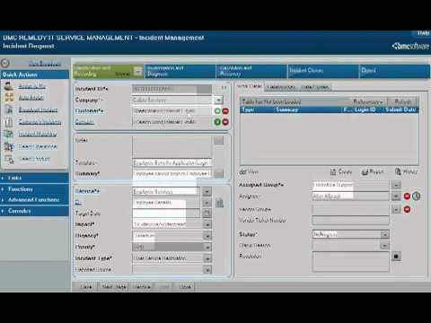 BMC Remedy ITSM: Incident Management Process Flow