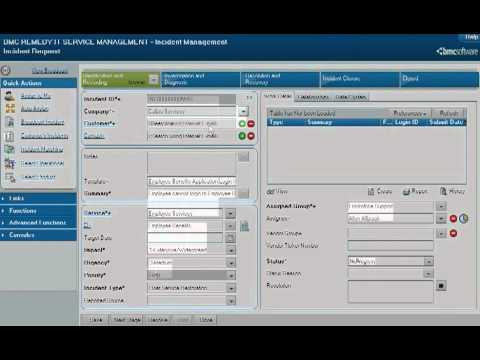Bmc Remedy Itsm Incident Management Process Flow Youtube