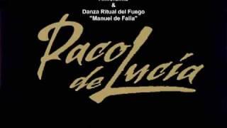 """Paco de Lucia - Almoraima y Danza Ritual del Fuego """"Manuel de Falla""""."""