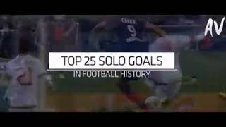 25 Solo Goals in football history