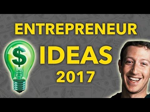 Top 10 Entrepreneur Ideas 2017