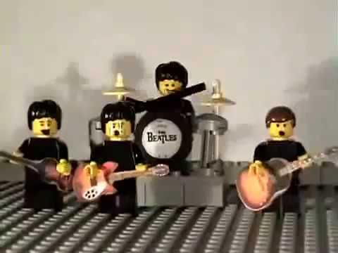 Happy Birthday Song | The Beatles | Lego
