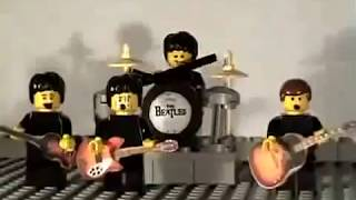 Happy Birthday Song | The Beatles | Lego