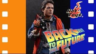 Фигурка Марти МакФлай   Back To The Future - Marty McFly Hot Toys