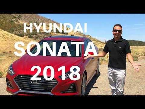 Hyundai Sonata 2018 Prueba completa y cambios que tuvo