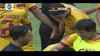 Video Gol Pertandingan PSMS Medan vs Sriwijaya FC