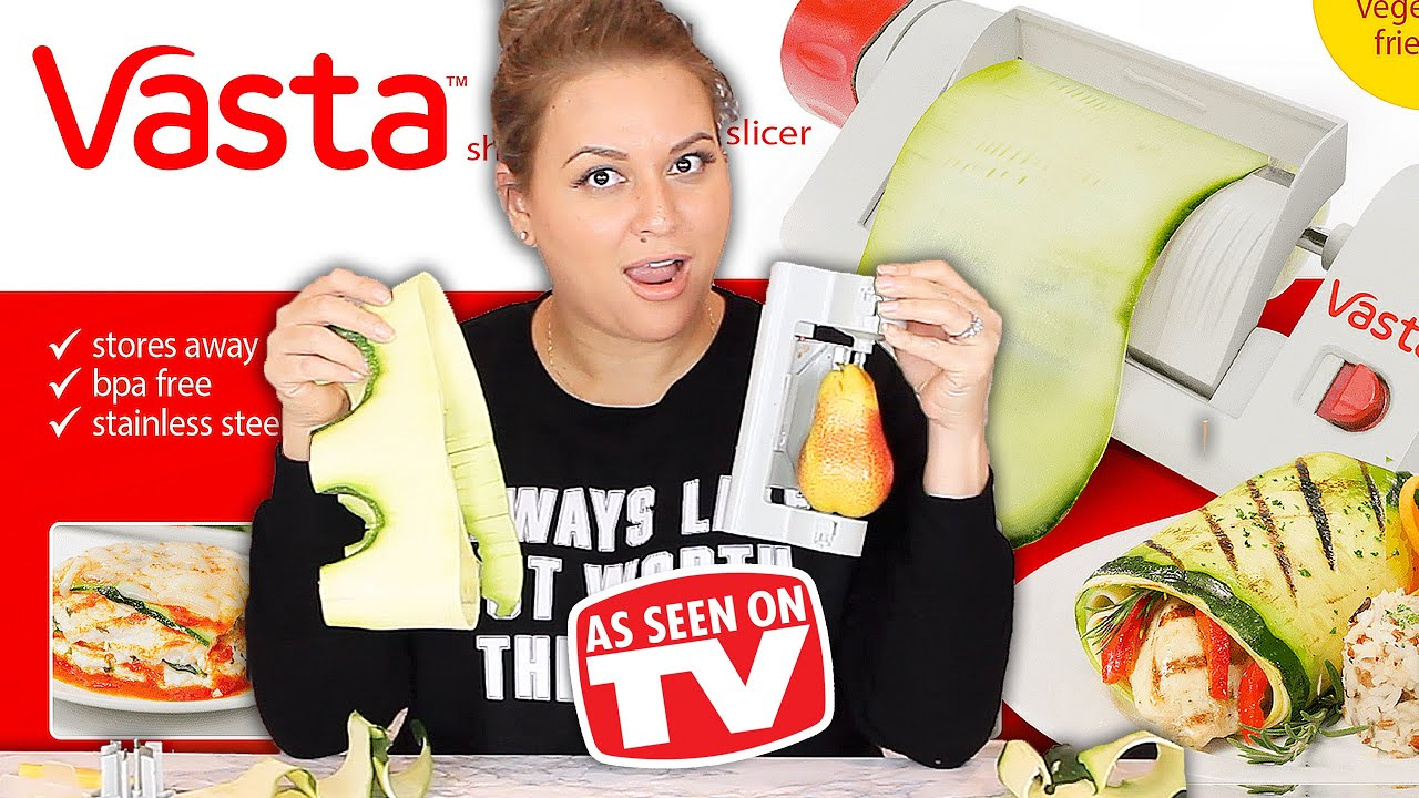 Vasta Veggie Slicer Review - Testing As Seen On TV Products