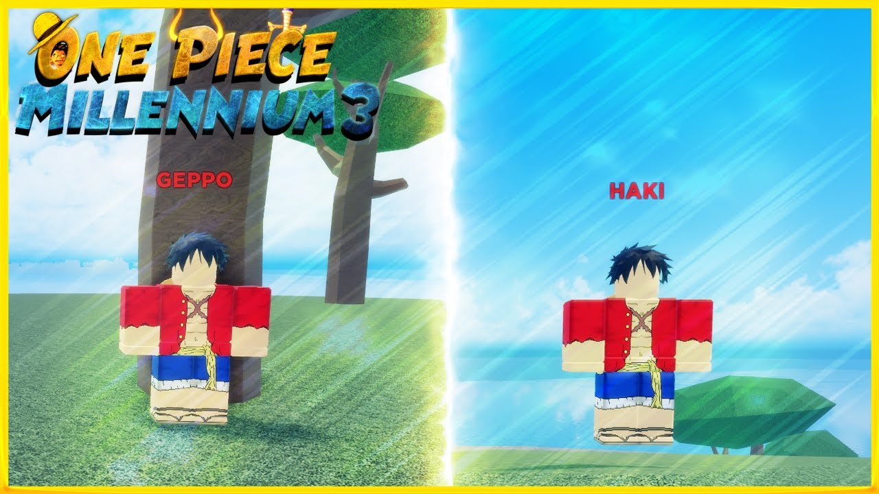 How To Get Haki And Geppo In One Piece Millennium 3 L Roblox Youtube