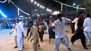 Balochi Dochampi in Yasir Baloch`s  Marriage Ceremony