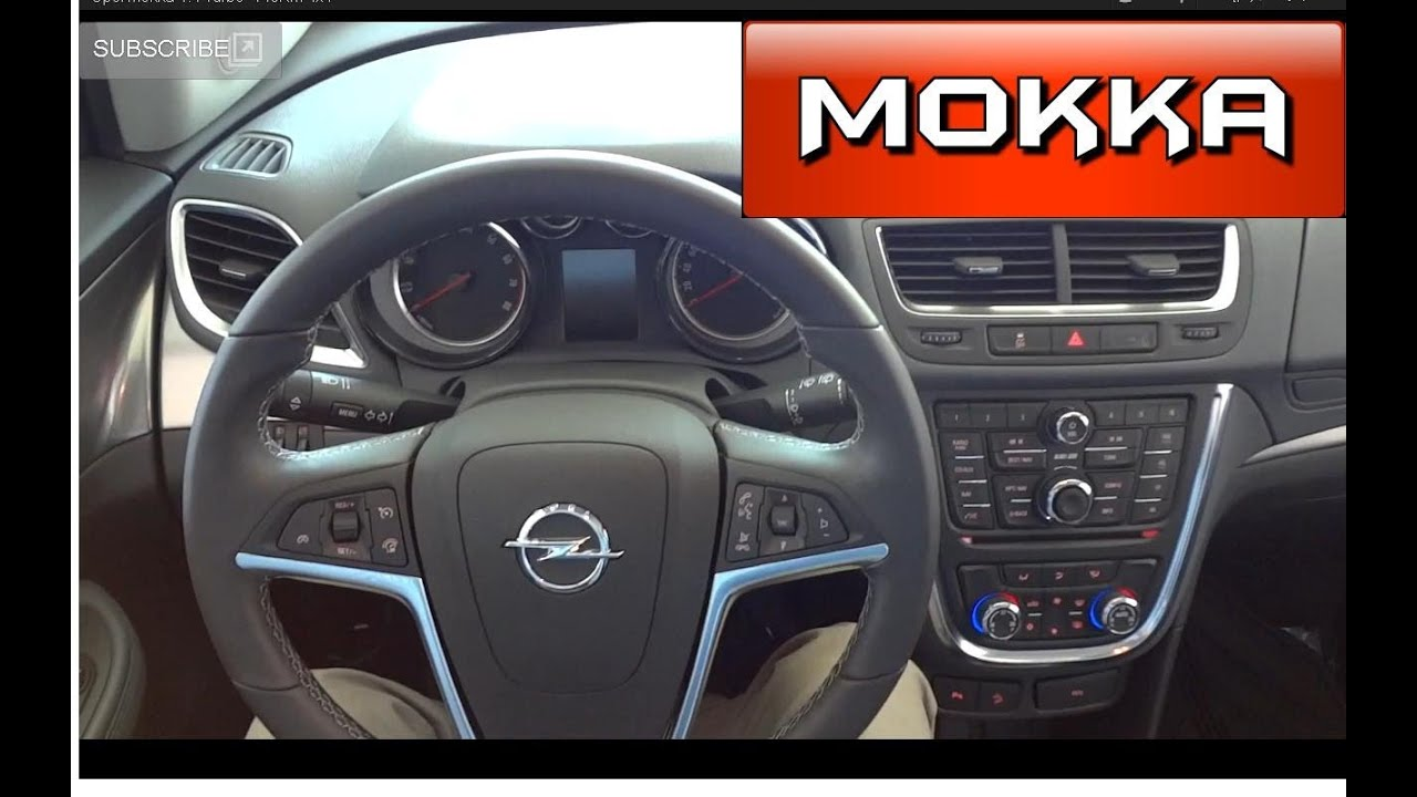opel mokka 1 4 turbo 140km 4x4 youtube. Black Bedroom Furniture Sets. Home Design Ideas