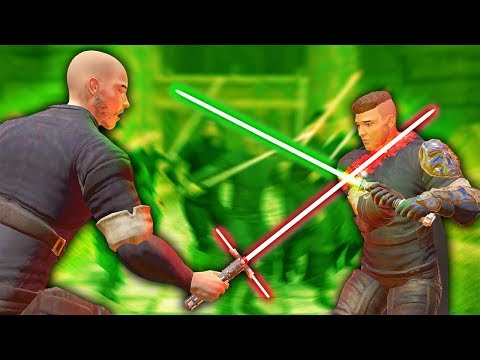 BECOMING A JEDI AND USING LIGHTSABERS IN VIRTUAL REALITY - Blades And Sorcery VR Mods