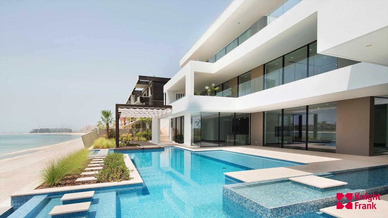 19 m ocean mist world class designer villa frond j palm jumeirah dubai