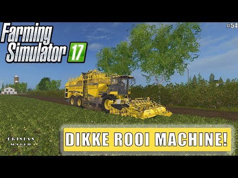 """DIKKE ROOI MACHINE!"" FarmingSimulator 17 Frisian March #54"