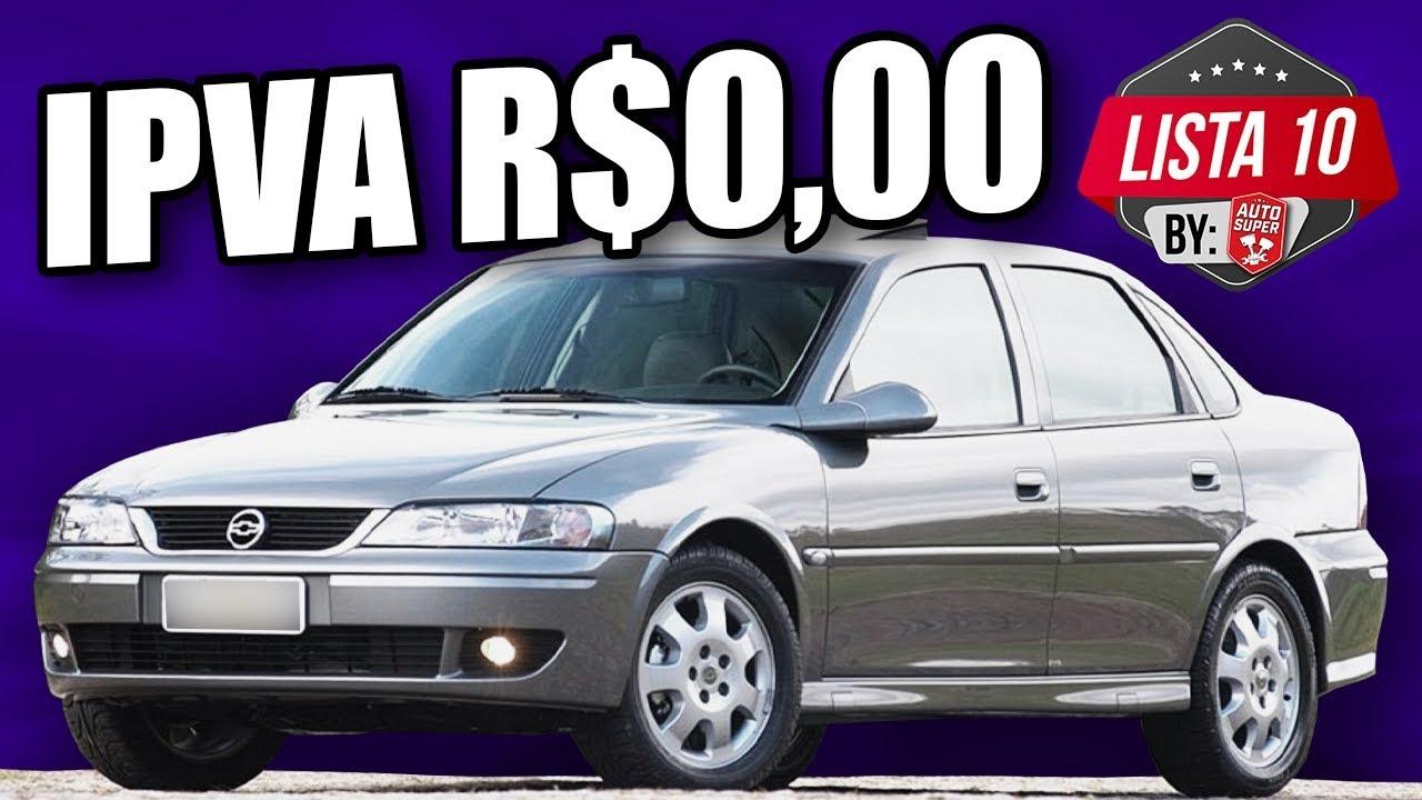 10 BONS CARROS DO ANO 2000 PRA QUEM NÃO QUER MAIS PAGAR IPVA (by inscritos)