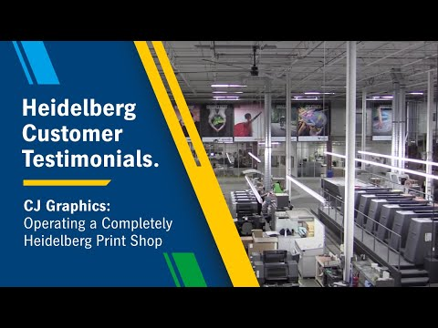 Welcome To CJ Graphics - A Complete Heidelberg Print Shop!
