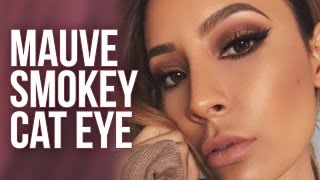 MAUVE SMOKEY CAT EYE | DESI PERKINS