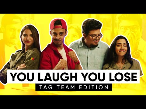 You Laugh You Lose | Tag Team Edition | Ft Aishwarya Suresh & Thatmalluchick | Jordindian