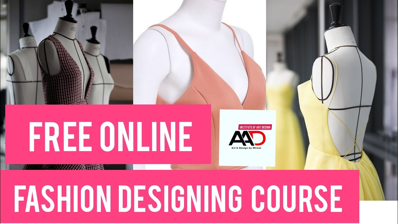 Draping Fashion Technique Free Fashion Design Course Class 1 Sub G M T Youtube